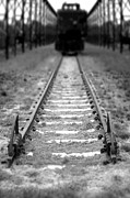 Railroad Metal Prints - The End of the Line Metal Print by Olivier Le Queinec