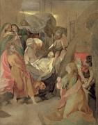 Counter Framed Prints - The Entombment of Christ Framed Print by Barocci