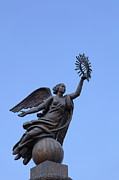 Kyrgyzstan Photos - The Erkindik statue in Bishkek Kyrgyzstan  by Robert Preston