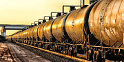 Bill Kesler Framed Prints - The Ethanol Train Framed Print by Bill Kesler