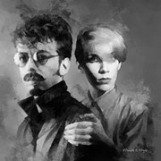 Corporate Are Prints - The Eurythmics Print by Paulette Wright