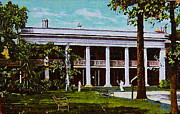 Architecture Jewelry Metal Prints - The Evanston Country Club In Evanston Il In 1911 Metal Print by Dwight Goss