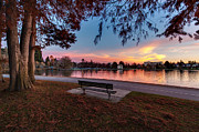 Fall Colors Photos - The Evening View Revisited by Mike Reid