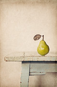 Fruit Drawings Metal Prints - The Exhibitionist Metal Print by Amy Weiss