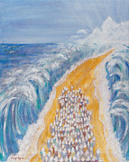 Israelites Prints - The Exodus Print by Cheryl Hymes