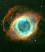 Cosmology Painting Prints - The eye Print by Odon Czintos