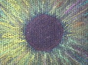 Detail Pastels - The Eye of the ONE detail by Nieve Andrea