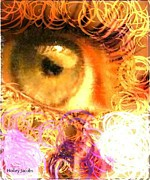Disability Digital Art Prints - The Eyes 4 Print by Holley Jacobs