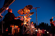 Concert Bands Metal Prints - The Fabulous Kingpins - 2013 Metal Print by David Patterson