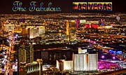 Bill Alexander Framed Prints - The Fabulous Las Vegas Nevada Framed Print by Bill Alexander