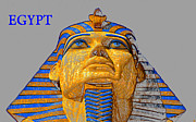 Egypt Digital Art - The Face of Egypt travel work one by David Lee Thompson