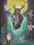 The Faery Shaman Print by Diana Haronis