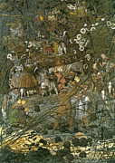 People Of The Night Prints - The Fairy Feller Master Stroke Print by Richard Dadd
