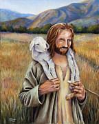 The Faithful Shepherd Print by Susan Jenkins