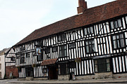 Stratford Art - The Falcon Inn Stratford Upon Avon by Terri  Waters