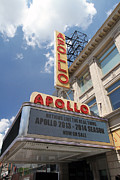 Adam Clayton Framed Prints - The famous Apollo Theatre in Harlem Framed Print by Steven Spak