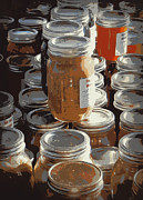 Ball Jars Posters - The Farmers Market Poster by Karyn Robinson