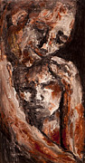 Family Love Paintings - The Fathers Love by Lyn Deutsch