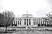 System Framed Prints - The Federal Reserve  Framed Print by Olivier Le Queinec