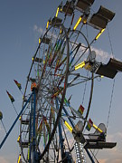 Guy Ricketts Photography Framed Prints - The Ferris Wheel Framed Print by Guy Ricketts