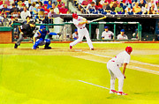 Phillies Digital Art - The Field by Alice Gipson