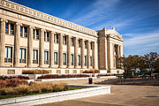 Plaque Photo Prints - The Field Museum in Chicago Print by Paul Velgos