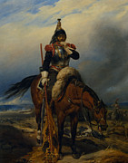 The Horse Digital Art Metal Prints - The Field of Battle Metal Print by Paul  Delaroche
