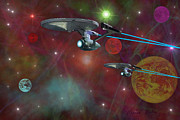 Speed Digital Art Originals - The Final Frontier by Michael Rucker