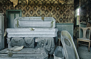 Casket Prints - The Final Stop Print by Sandra Bronstein