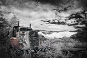 Infrared Photos - The Final Stop by Sean Foster