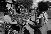 Local Food Photo Prints - The Fish Market Print by Aidan Moran