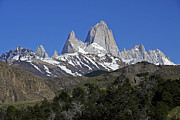Fitz Art - The Fitz Roy Range by Michele Burgess