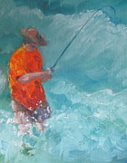 Gulf Of Mexico Painting Originals - The Fix by Susan Richardson