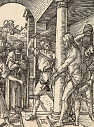The Flagellation Print by Albrecht Durer