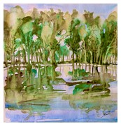 Katerina Kovatcheva - The flooded forest