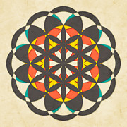 Flower Of Life Posters - The Flower of Life 8 Poster by Jazzberry Blue