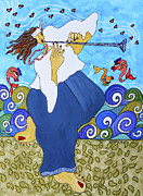 Cher Odum - The Flute Player