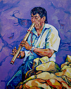 Prime Originals - The Flute Player by Derrick Higgins
