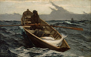 Winslow Homer - The Fog Warning .Halibut Fishing by Winslow Homer