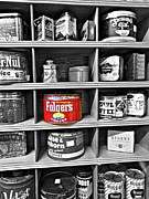 Folgers Prints - The Folgers Can Print by Yvette McClure
