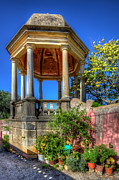 Nigel Hamer Metal Prints - The Folly at the Palacio de Estoi Metal Print by Nigel Hamer