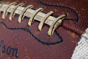 Footballs Closeup Photos - The Football by David Patterson