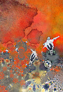 Ball Games Digital Art - The Football Game by Miki De Goodaboom