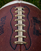 Footballs Closeup Photos - The Football III by David Patterson