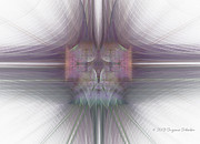 Computer Generated Art Prints - The Force Within II Print by Suzanne Schaefer