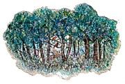 Hand Made Art - The Forest by Norma Boeckler