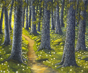 Veikko Suikkanen - The forest path