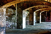 Dry Tortugas Prints - The Fort at the Dry Tortugas National Park Print by Deborah Talbot - Kostisin