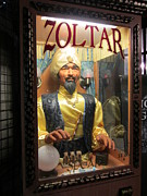 Zoltar Framed Prints - The Fortune Teller Framed Print by Susan Carella