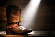 Roper Photos - The Found Boots by Olivier Le Queinec